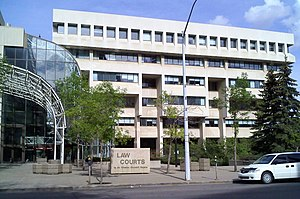 Law Courts (Edmonton) - Image: Edmonton Law Courts 10