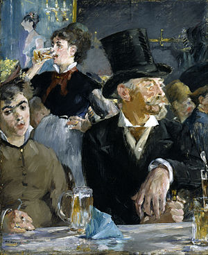 The Café-Concert (painting) - Image: Edouard Manet At the Café Walters 37893