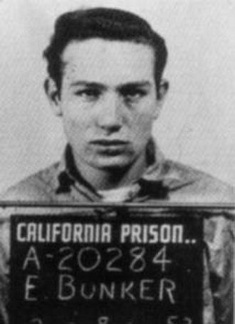 Edward Bunker - Edward Bunker mugshot taken at an unknown California prison