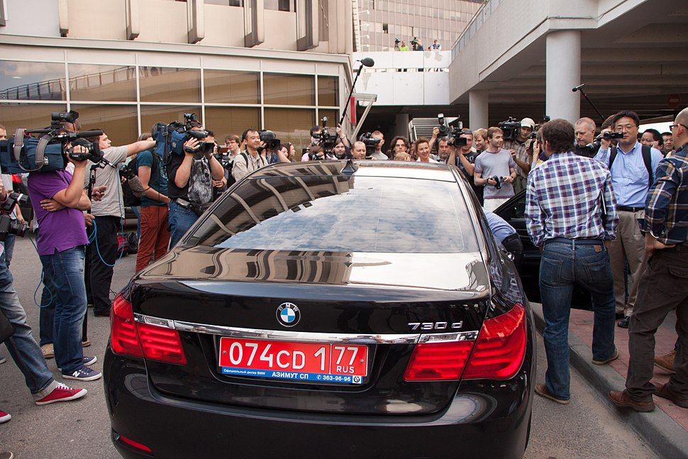 Edward Joseph Snowden - Arrival at Sheremetyevo International Airport 02