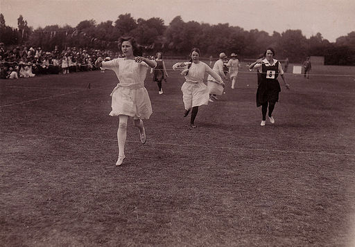 Egg-and-Spoon Race (Barratt's Photo Press)