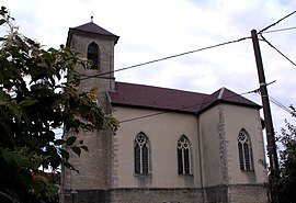 The Lutheran church in Autechaux