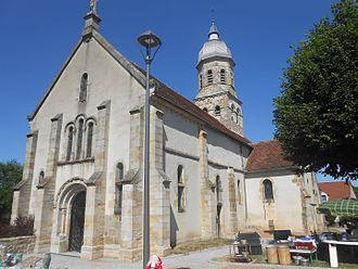 Beaune-d'Allier - Beaune church.