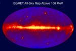 Egret all sky gamma ray map from CGRO spacecraft.png