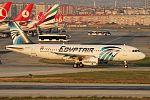 EgyptAir Airbus A320 (SU-GCC) at Ataturk Airport.jpg