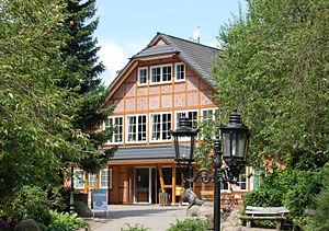 Eingang Wildpark Schwarze Berge