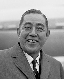 Eisaku Satō 61st, 62nd and 63rd Prime Minister of Japan