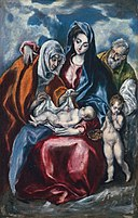 El Greco (Domenikos Theotokopoulos) - The Holy Family with Saint Anne and the Infant John the Baptist - 1959.9.4 - National Gallery of Art.jpg