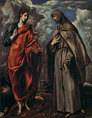 Saint John the Evangelist and Saint Francis