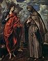 El Greco - Sts John and Francis - WGA10549.jpg