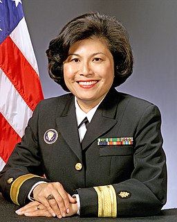 Eleanor Mariano United States admiral and Physician to the President