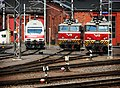 Electric locomotives at Turku railway station..jpg