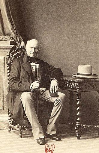Élie, duc Decazes - Decazes in 1859