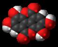 Ellagic acid 3D spacefill.png