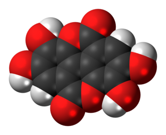 Ellagic acid - Image: Ellagic acid 3D spacefill