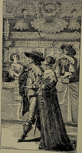 People who shop for pleasure are known as recreational shoppers. The recreational shopper has its origins in the grand European shopping arcades. Pictured: The gentry in a Dutch lace shop in the 17th century Embroidery and lace- their manufacture and history from the remotest antiquity to the present day. A handbook for amateurs, collectors and general readers (1888) (14593807460).jpg