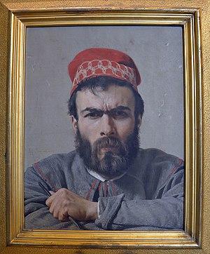 Emilio Zocchi - Emilio Zocchi, Portrait by Raffaello Sorbi