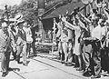 Emperor Showa visit to Joban Coalfield in 1947.JPG