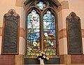 Enfield, St Mary Magdalene, War memorial window.jpg