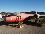 English Electric Canberra B-2 seen at the Internationals Luftfahrtmuseum Manfred Pflum at Schwenningen pic1.JPG