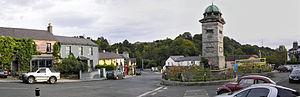 Enniskerry - Enniskerry village square.