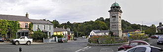 Enniskerry - Enniskerry village square.