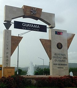 Entering Guayama from PR-54
