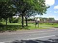 Entrance to Ravenhead Greenway, St Helens.JPG