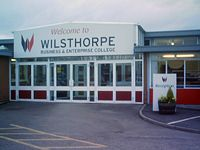 Entrance to Wilsthorpe College.jpg