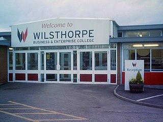 Wilsthorpe School Academy in Long Eaton, Derbyshire, England