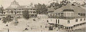 Epworth Heights - Epworth Heights main beach, c.1908