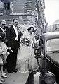 Esküvői fotó, 1949 Budapest - Fortepan 105555.jpg