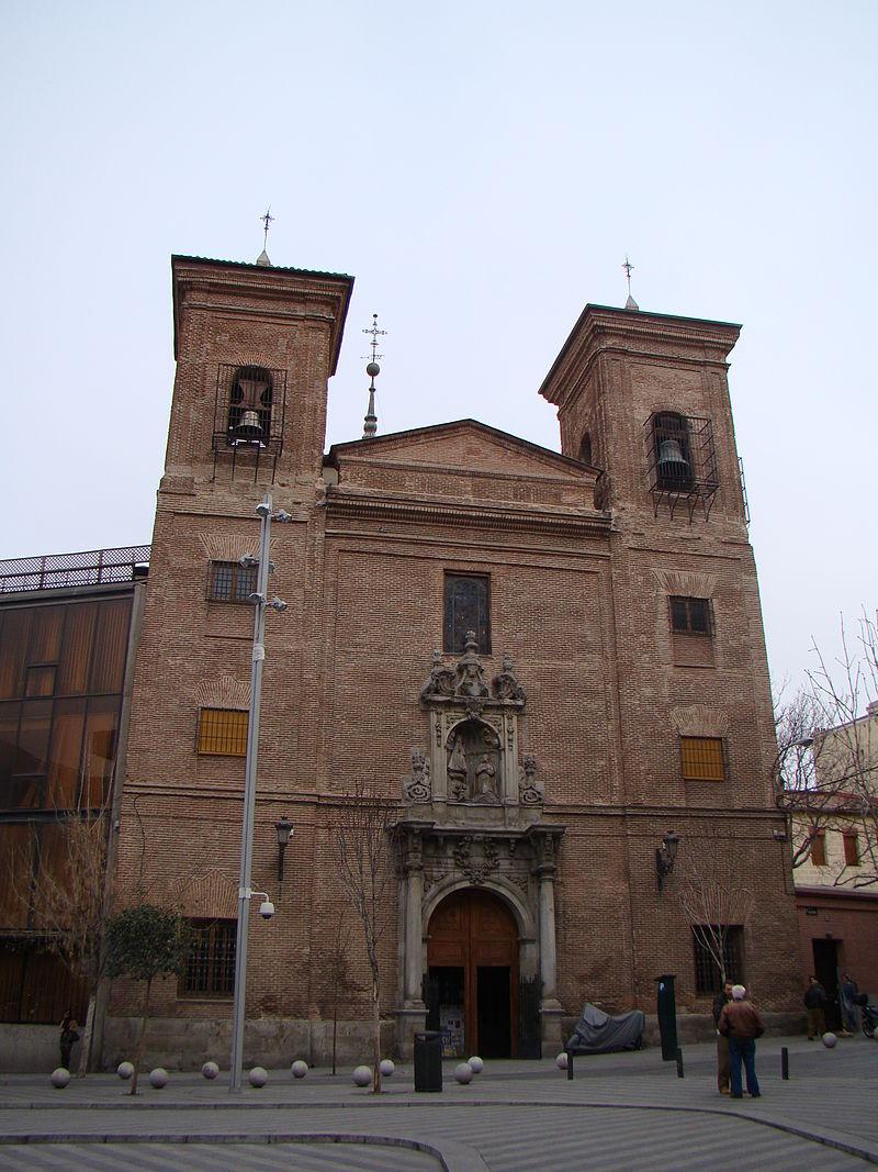 España - Madrid - Iglesia de San Martín - Fachada.JPG