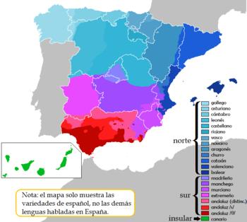 lengua oficial en espana: