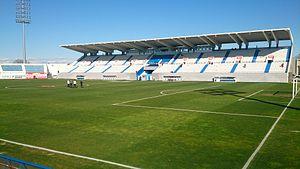 Estadio Municipal de Butarque - Image: Estadio Municipal Butarque, Leganés