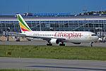 Ethiopian Airlines Boeing 767-300ER (ET-AMG) at Lviv International Airport.jpeg