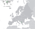 Europe - Republic of Kosovo location.png