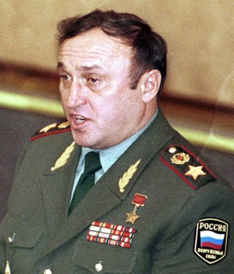 Hero of the Soviet Union - Hero of the Soviet Union Army General Pavel Grachev
