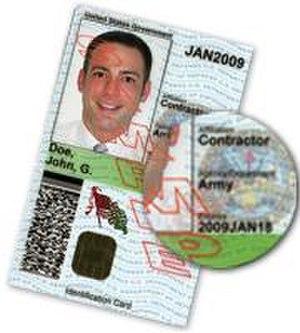 Access badge - An example DoD Common Access Card