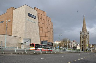 Carbuncle Cup - Image: Exeter Street Plymouth geograph.org.uk 1598471
