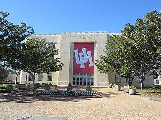 Ezekiel W. Cullen Building - Image: Ezekiel W. Cullen Building, University of Houston in 2012