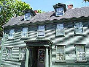 Ezra Stiles - Ezra Stiles House in Newport, Rhode Island