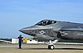 F-35C Lightning II Joint Strike Fighter arrives at Naval Air Station Oceana 141028-N-VK873-243.jpg