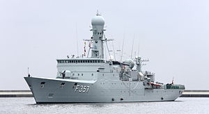 Thetis-class ocean patrol vessel - HDMS Thetis (F357)