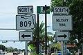 FL809 North - Military Trail South Signs - FL802 (42233751845).jpg