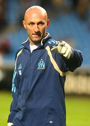 Fabien Barthez - Barthez with Olympique de Marseille in 2006