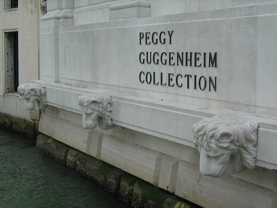 Facade on Peggy Guggenheim Collection