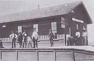 Fairbank, Arizona - Image: Fairbank Railroad Depot Arizona Circa 1900