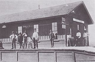Fairbank train robbery