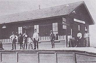 Fairbank, Arizona - Image: Fairbank Railroad Depot Arizona Circa 1900